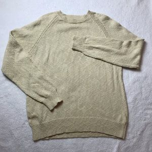 J.Crew crewneck sweater cream size xl